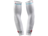 Manguitos de compresion Compressport Arm Force - blancos -