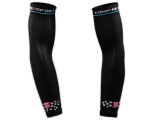 Manguitos de compresion Compressport Arm Force - negros -