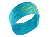 Bandana / cinta de pelo Compressport Headband ON/OFF - azul