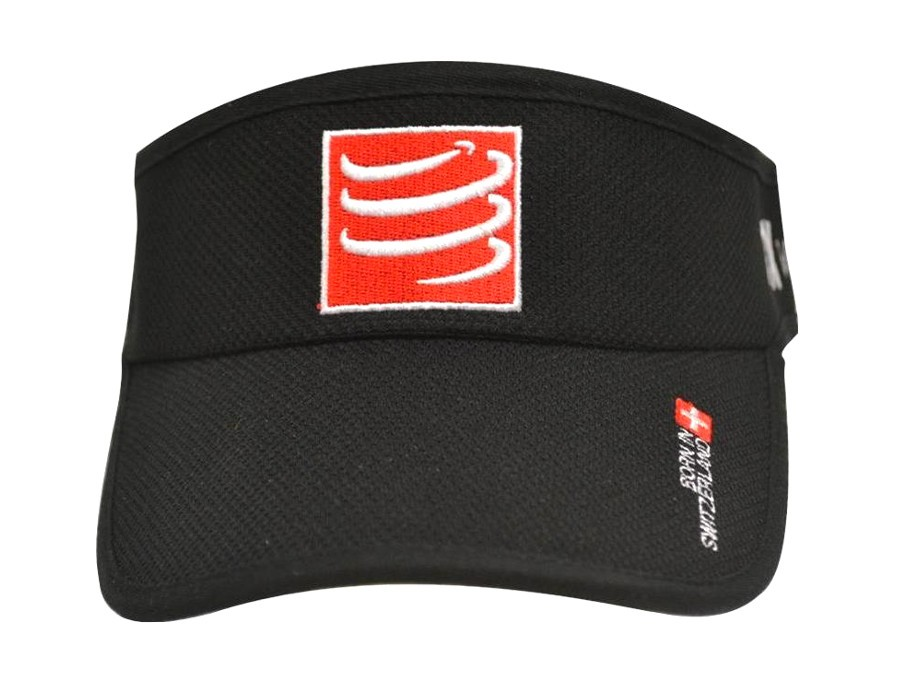 Visera Compressport - negra