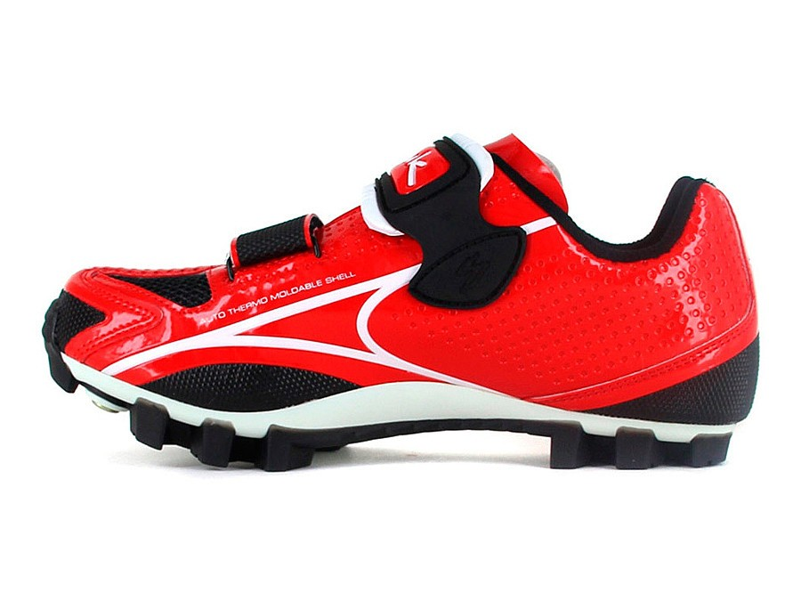 Zapatillas MTB Spiuk New Risko - rojo / blaco