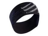 Bandana / cinta de pelo Compressport Headband ON/OFF - negra